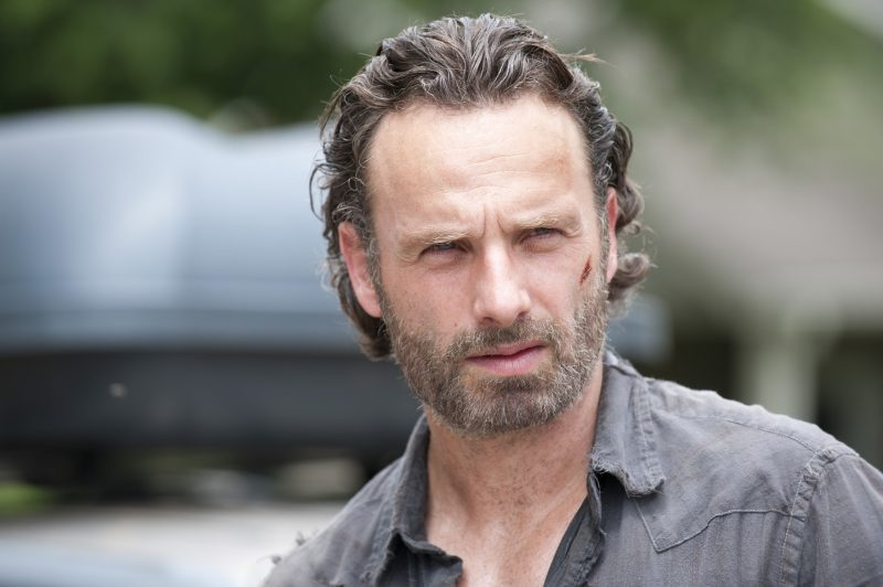 Rick Grimes (Andrew Lincoln) - The Walking Dead _ Season 4, Episode 4 - Photo Credit: Gene Page/AMC
