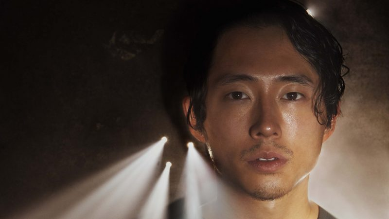 Steven Yeun as Glenn - The Walking Dead _ Season 5, Gallery - Photo Credit: Frank Ockenfels 3/AMC