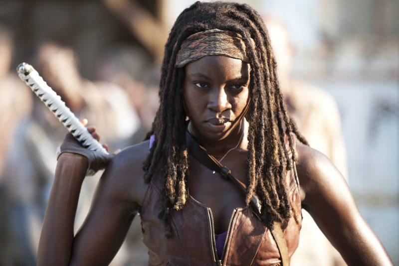 FOR TV WEEK -- DO NOT PURGE -- Michonne (Danai Gurira) - The Walking Dead - Season 3, Episode 5 - Photo Credit: Gene Page/AMC