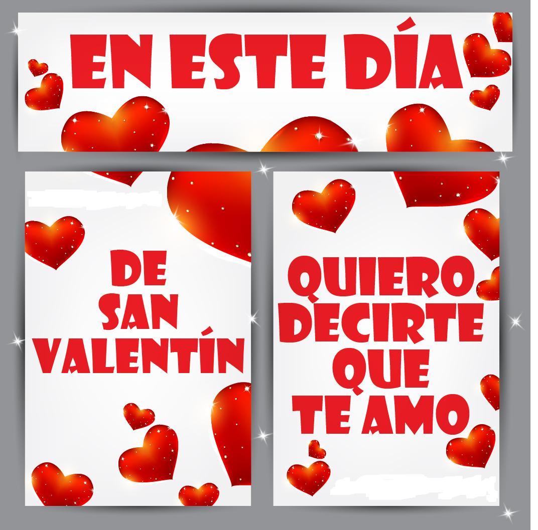 Imgenes de San Valentin tarjetas con frases de amor para el 14