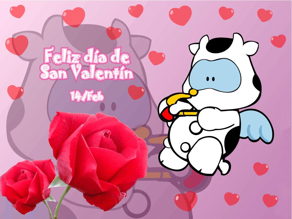 Imágenes de amor con frases para el Da de San Valentin