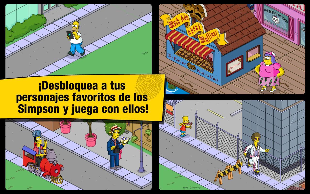 juego de los simpson gratis: