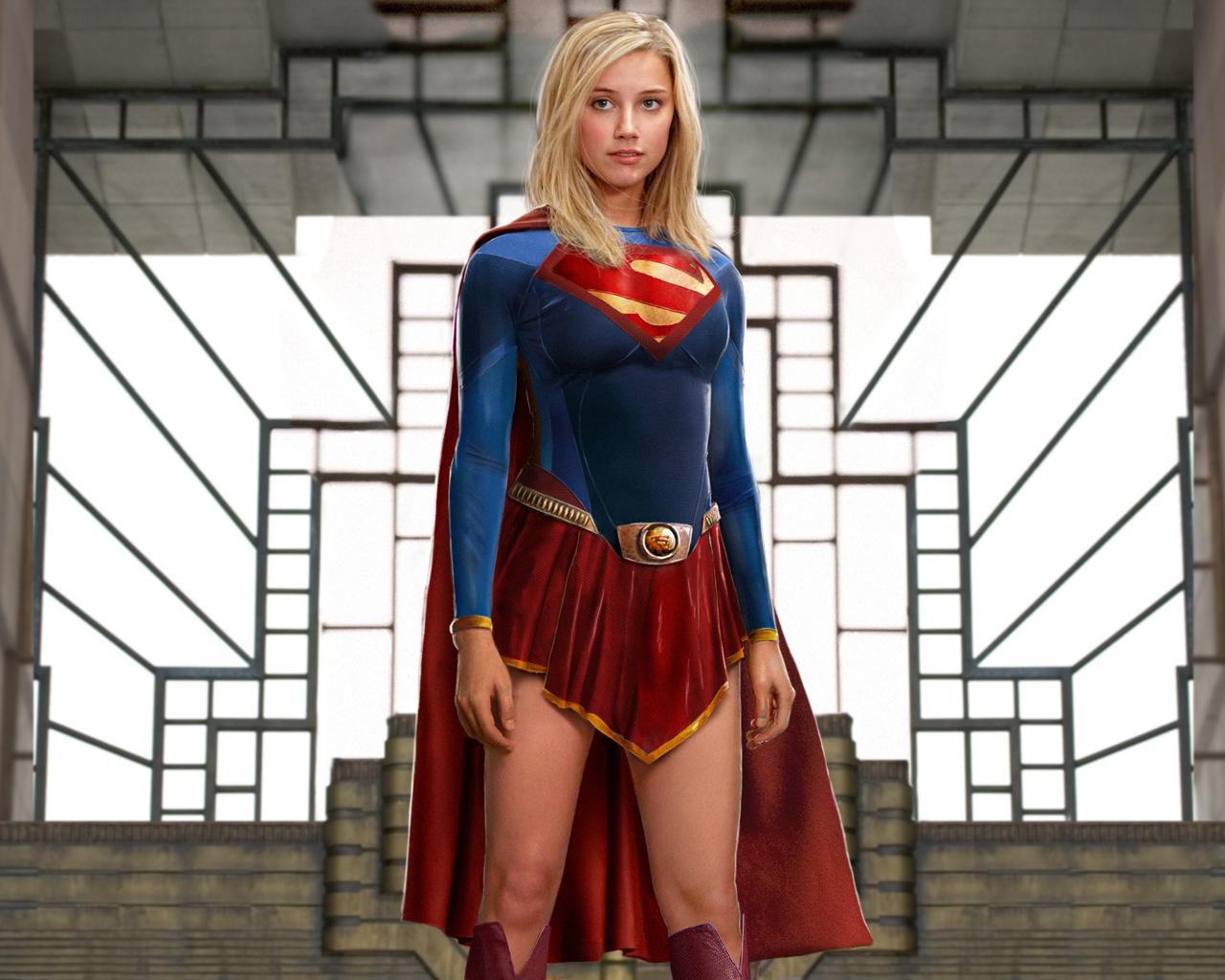 Pubg Wallpaper Cosplay: Supergirl Cosplays (8)