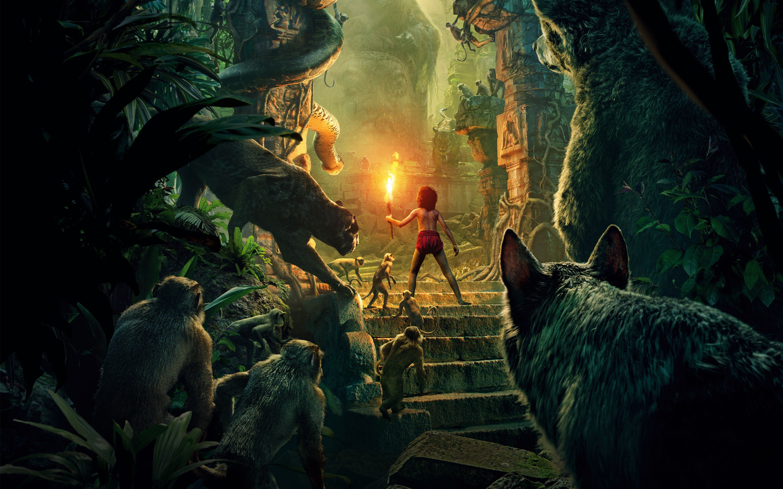 El Libro de la Selva 2016 Disney, wallpapers gratis