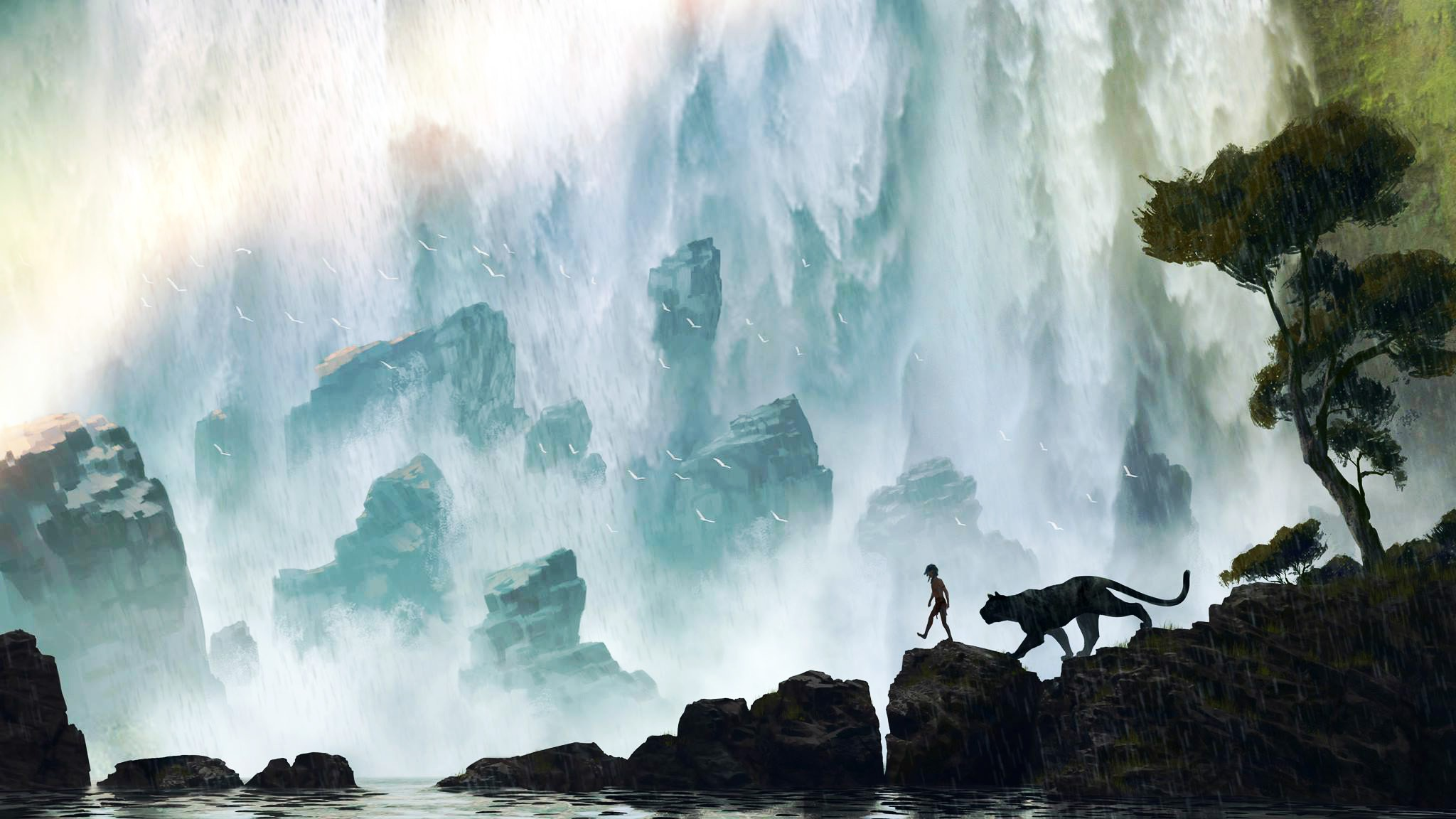 Fondos De Pantalla De Disney: El Libro De La Selva 2016 Disney, Wallpapers Gratis