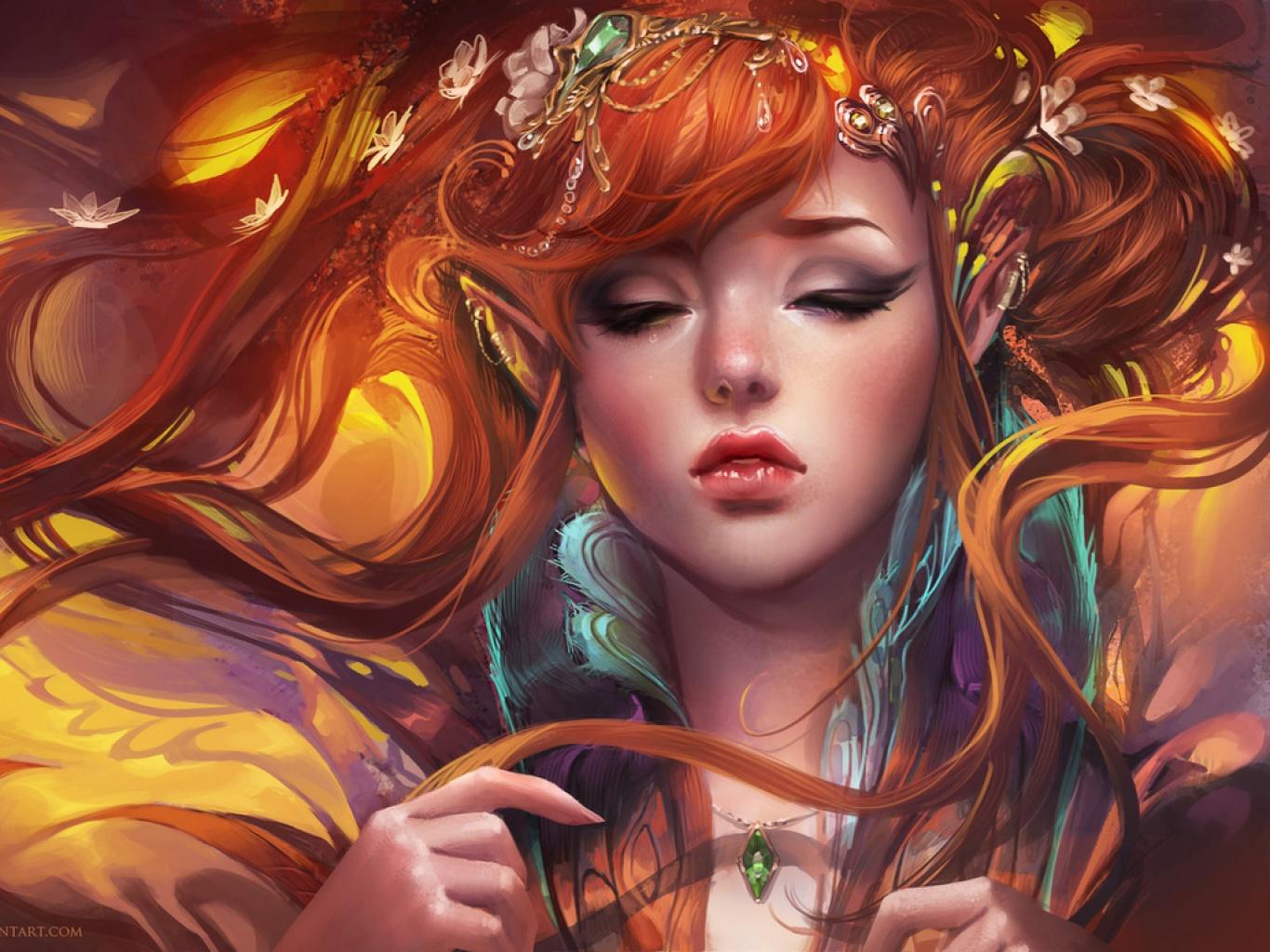 Painting Art Phoenix Fire Fantasy Digital Drawing: Imágenes De Chicas Anime, Fondos De Chicas Anime, Wallpapers