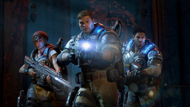 03 personajes Gears of War 4