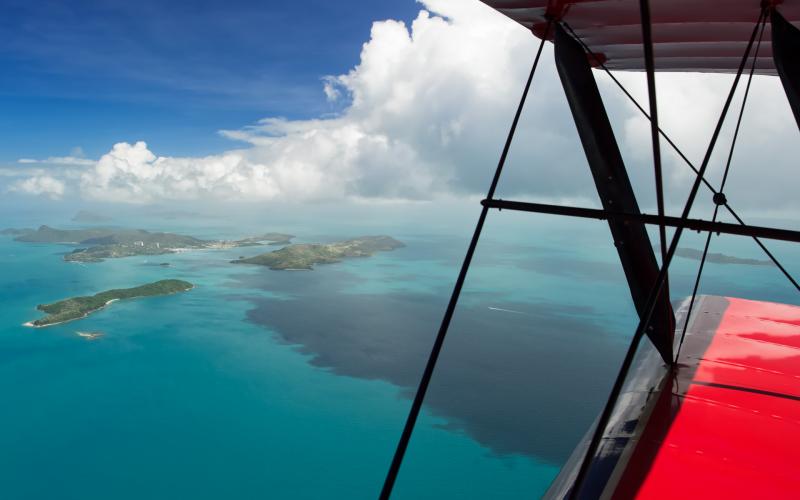 paisaje desde avioneta