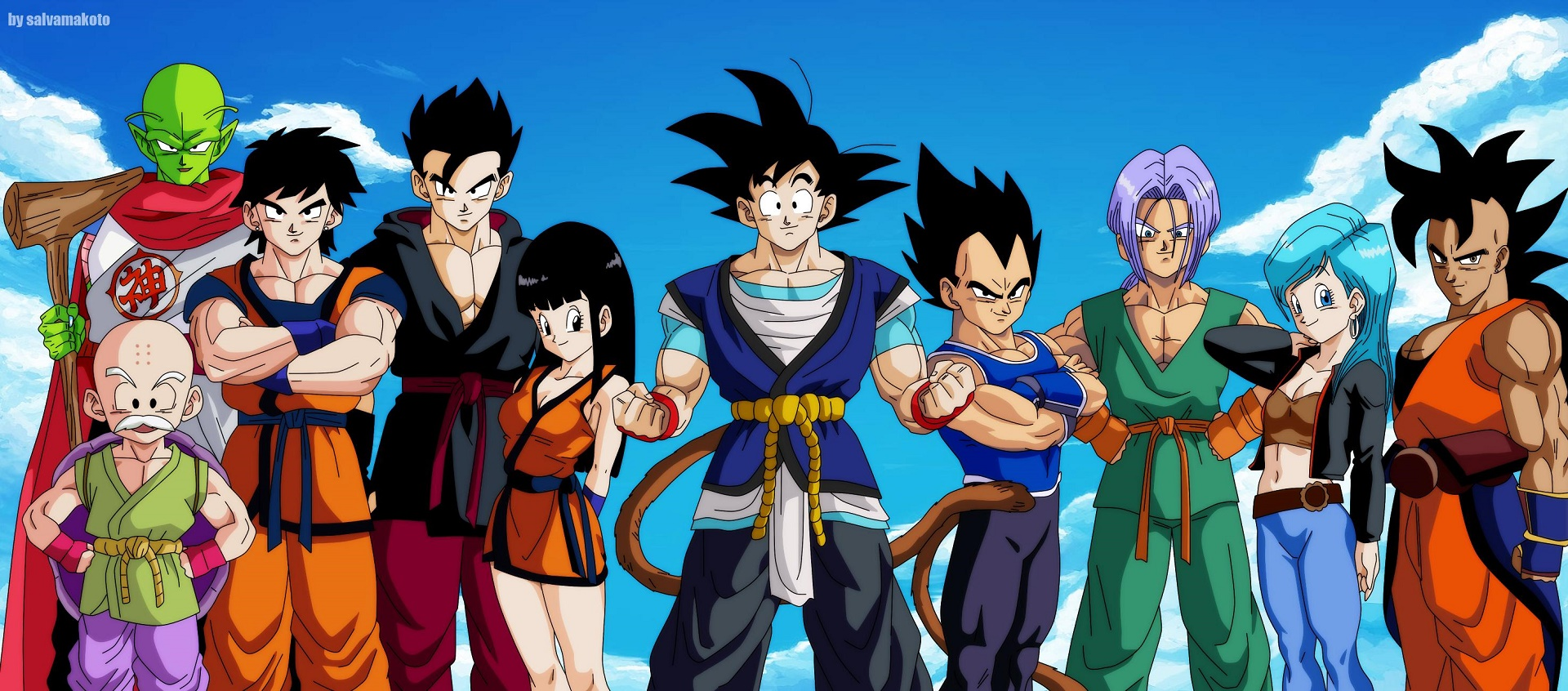 z fighters wallpaper dbs - photo #10