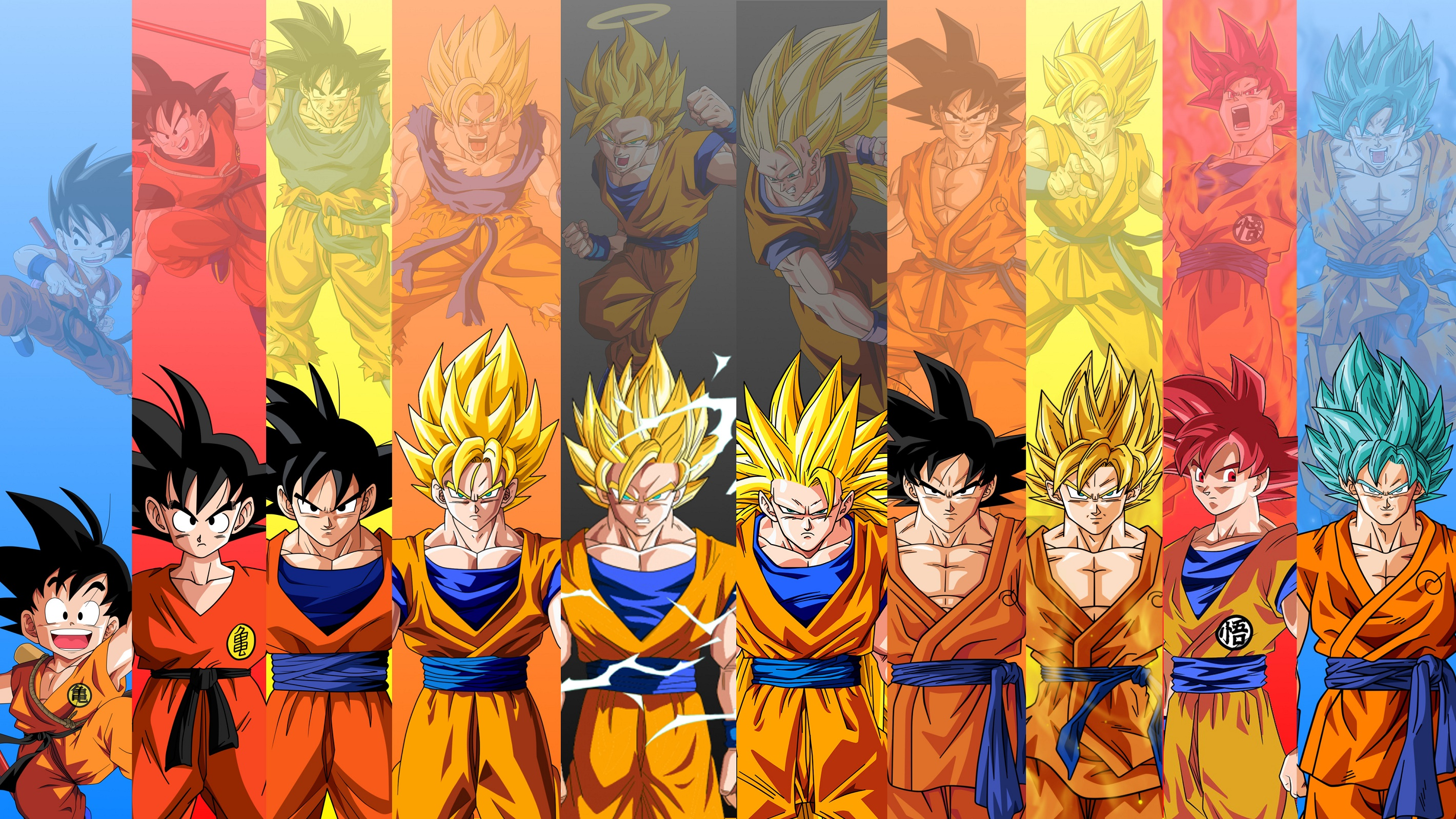 Wallpaper of dragon ball z free download for Dragon ball z bedroom wallpaper