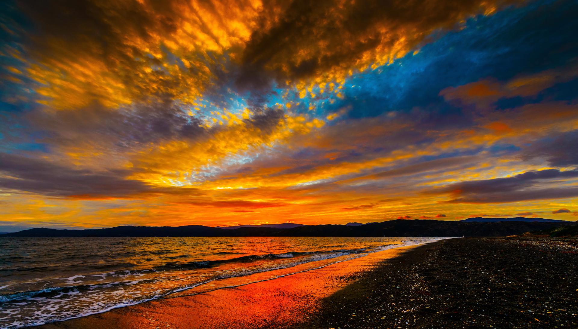 Playas al atardecer fotos de playas al atardecer imagenes for Imagenes hd para fondo