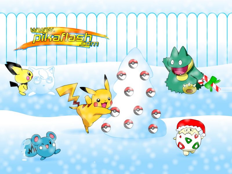 pokemon navidad wallpapers