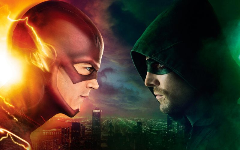 the-flash-and-arrow-wallpaper-hd