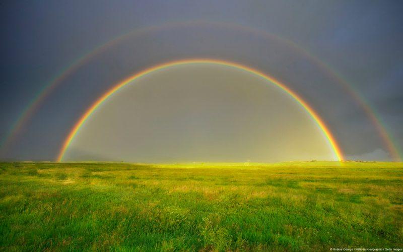 Doble Arcoiris Silt, Colorado, U.S.