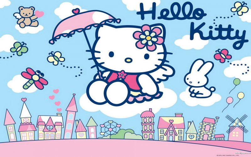 01 - Hello Kitty Wallpapers