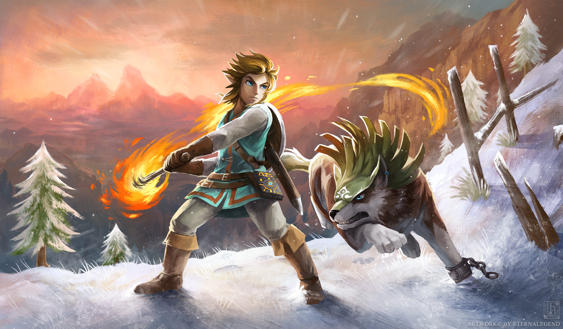 Fondos De The Legend Of Zelda Breath Of The Wild  Wallpapers