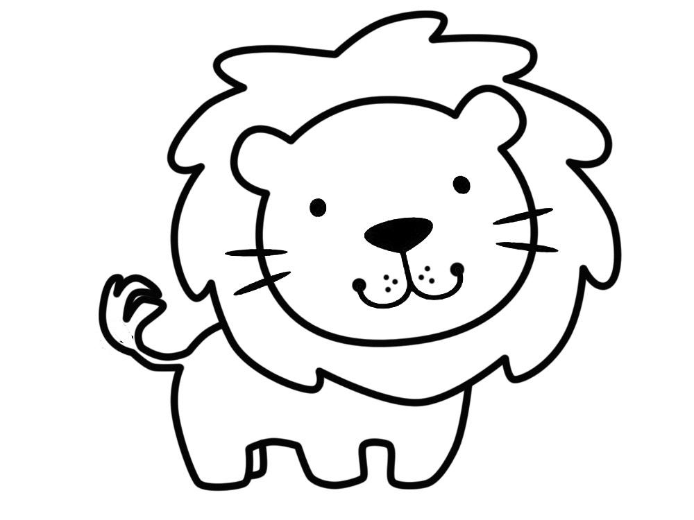Niños Para Colorear E Imprimir: Dibujos De Animales Para Colorear, Pintar E Imprimir Gratis