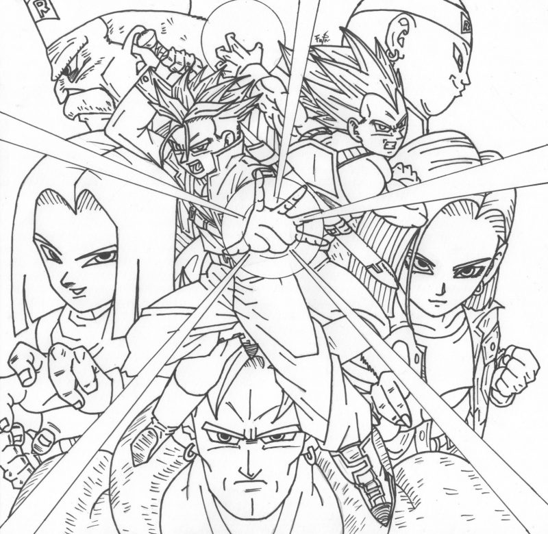 Dibujos-para-colorear-de-Dragon-Ball-Z-00
