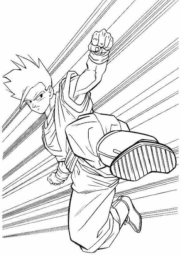 Dibujos-para-colorear-de-Dragon-Ball-Z (4)