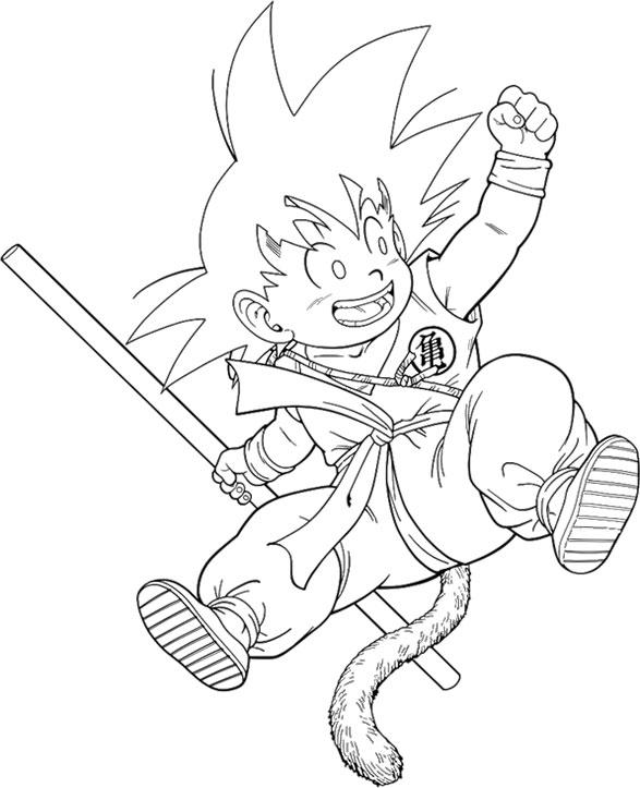 Dibujos-para-colorear-de-Dragon-Ball-Z (5)