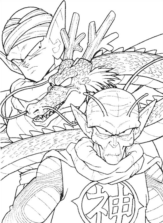 Dibujos-para-colorear-de-Dragon-Ball-Z (7)