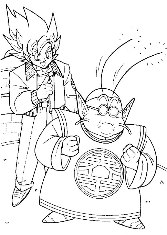 Dibujos-para-colorear-de-Dragon-Ball-Z (8)