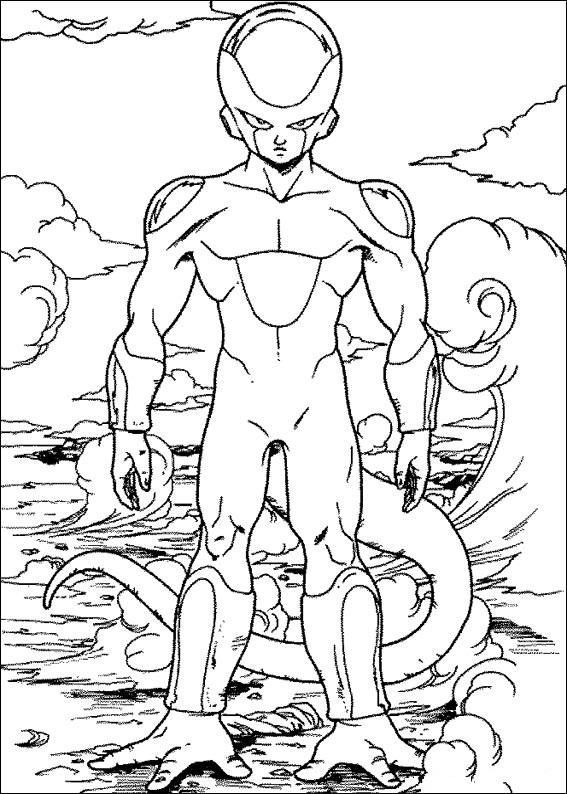 Dibujos-para-colorear-de-Dragon-Ball-Z-Freezer