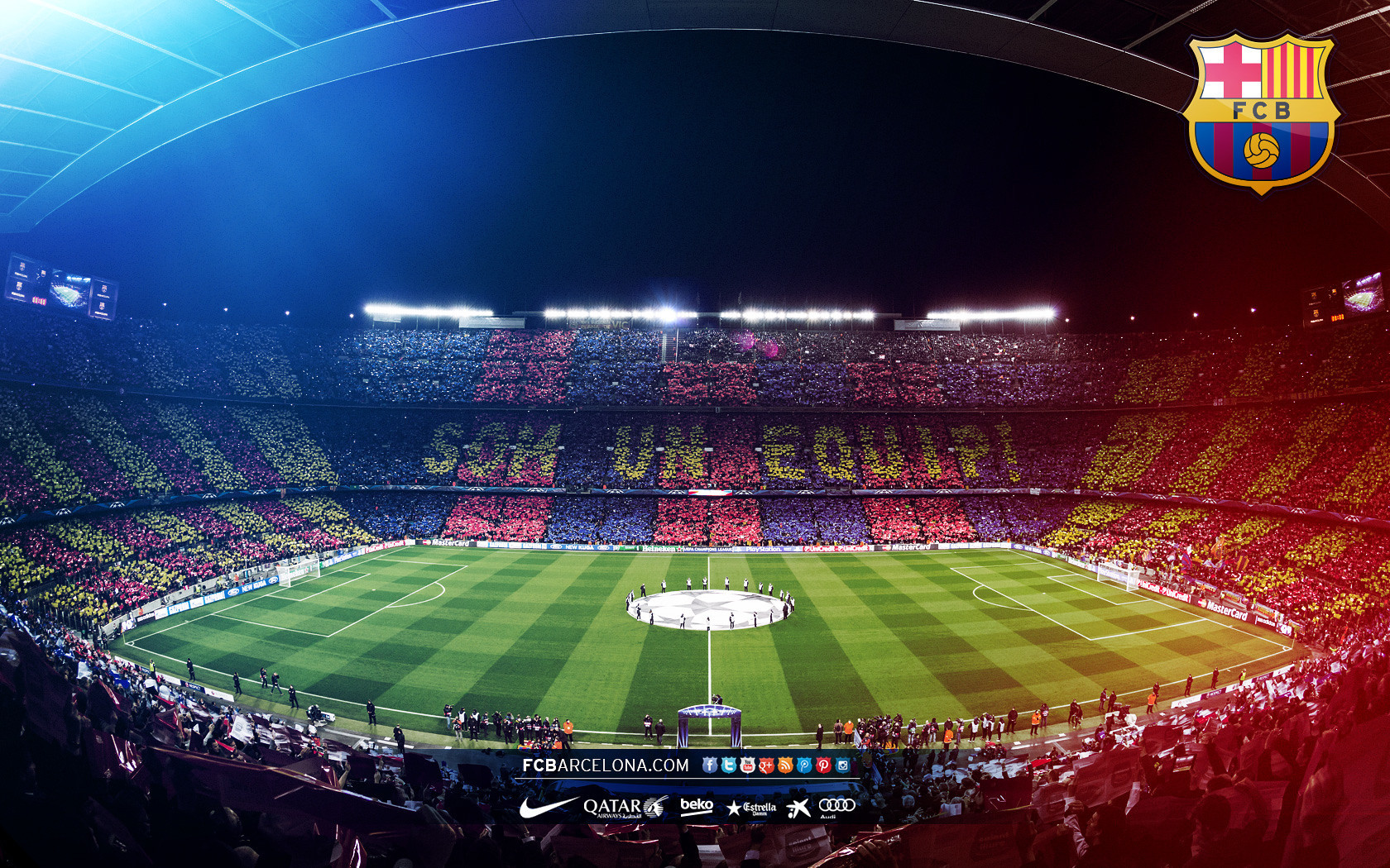 Fondos de pantalla del f tbol club barcelona wallpapers - Camp nou 4k wallpaper ...