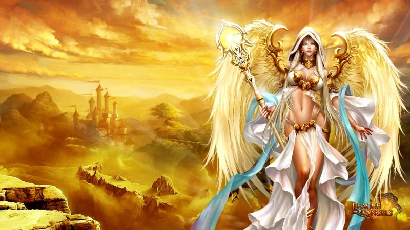 angel-warrior-league-of-angels-game-wallpaper