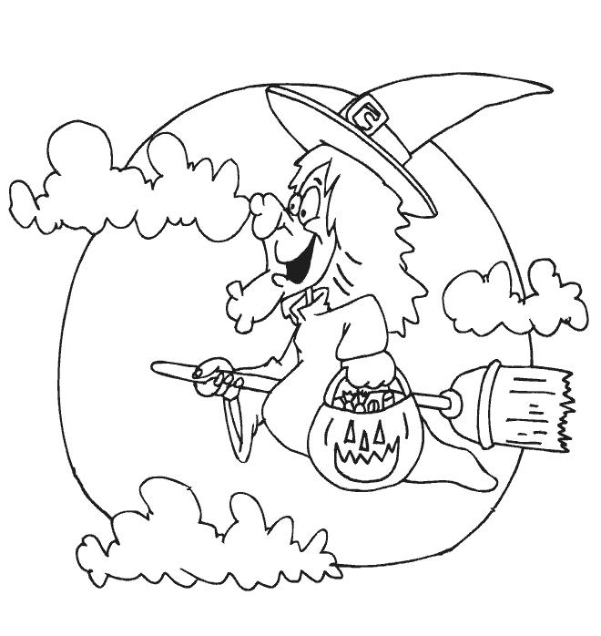 Dibujos de Halloween para colorear imgenes halloween