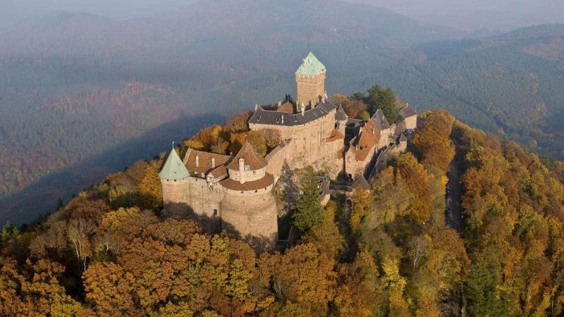 castillo-de-haut-koenigsbourg-francia
