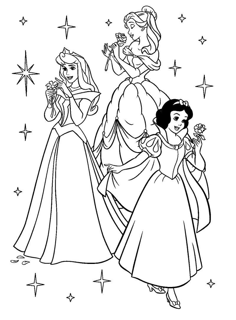 colorear-princesas-disney