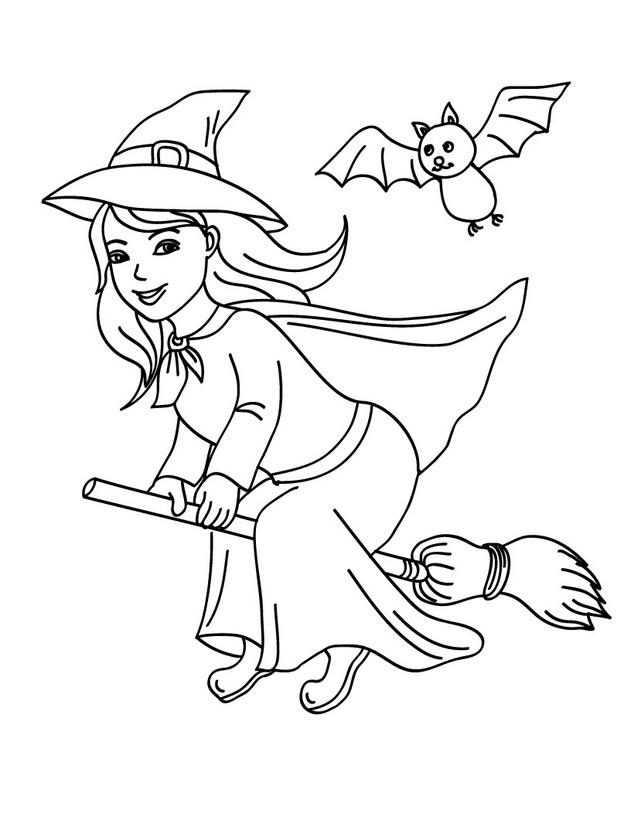 dibujo-bruja-buena-halloween