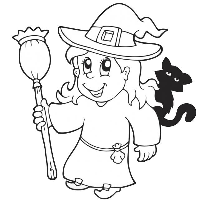 dibujo-bruja-buena-para-colorear-halloween