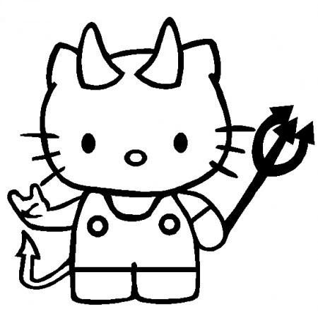 dibujo-hello-kitty-diablesa-halloween