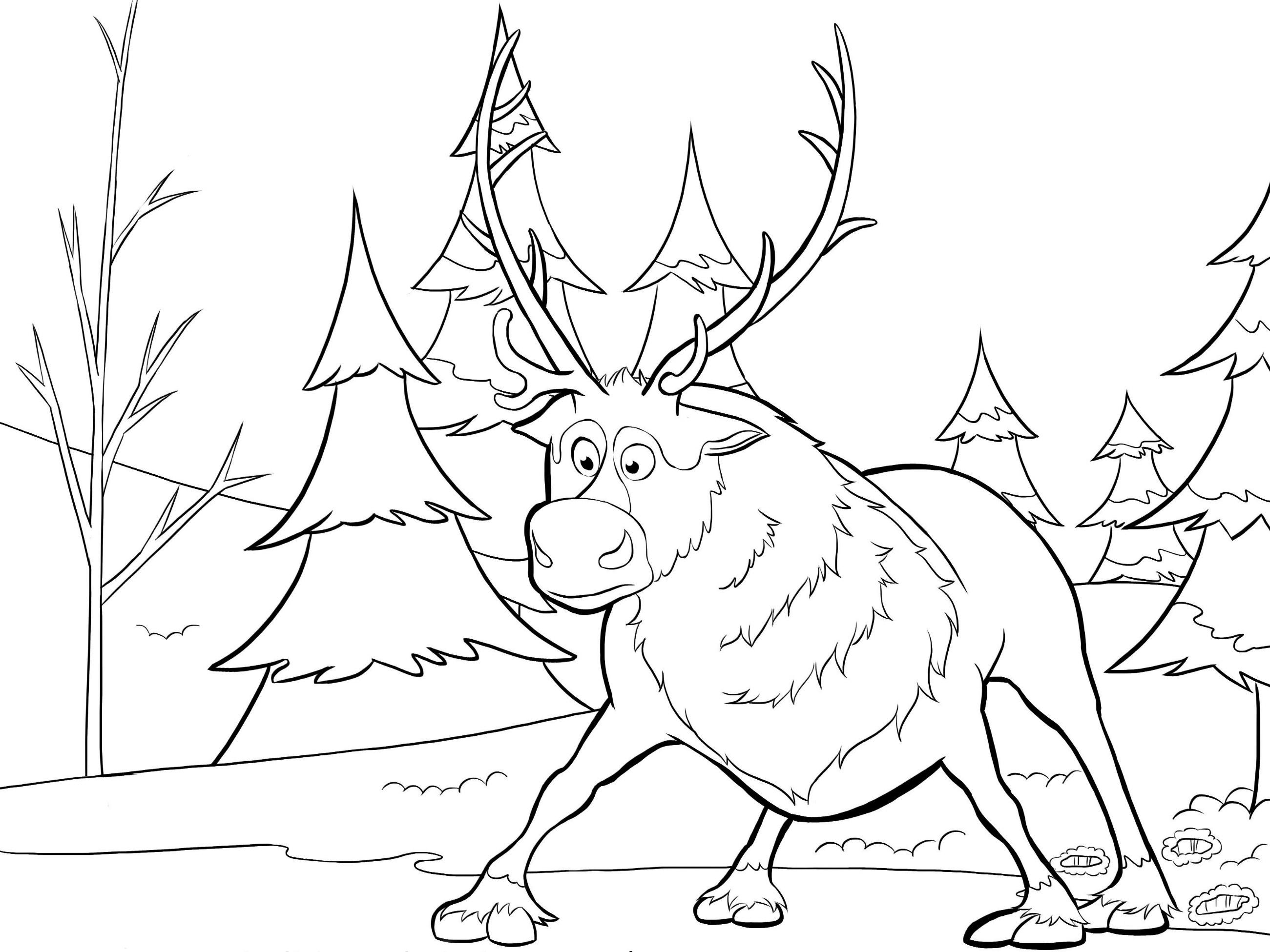 Frozen Dibujos Para Colorear E Imprimir: Dibujos Para Colorear De Frozen El Reino Del Hielo