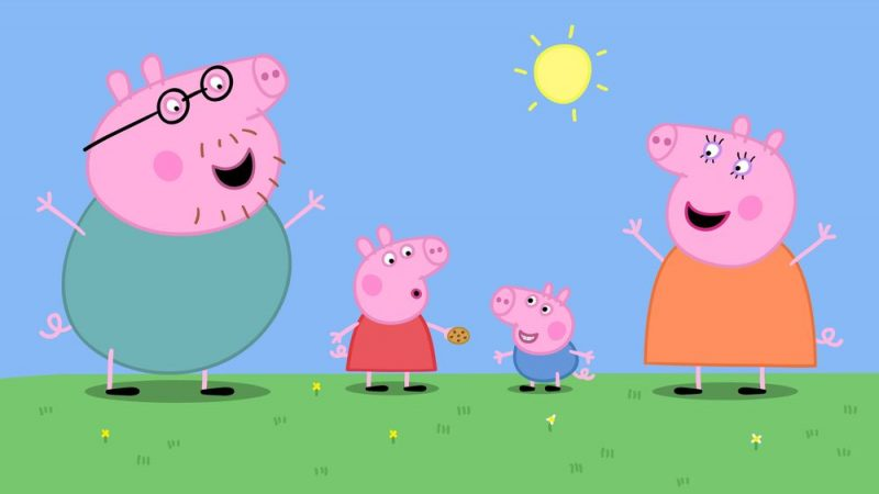 Dibujos de Peppa Pig para colorear - freude-kinder.com
