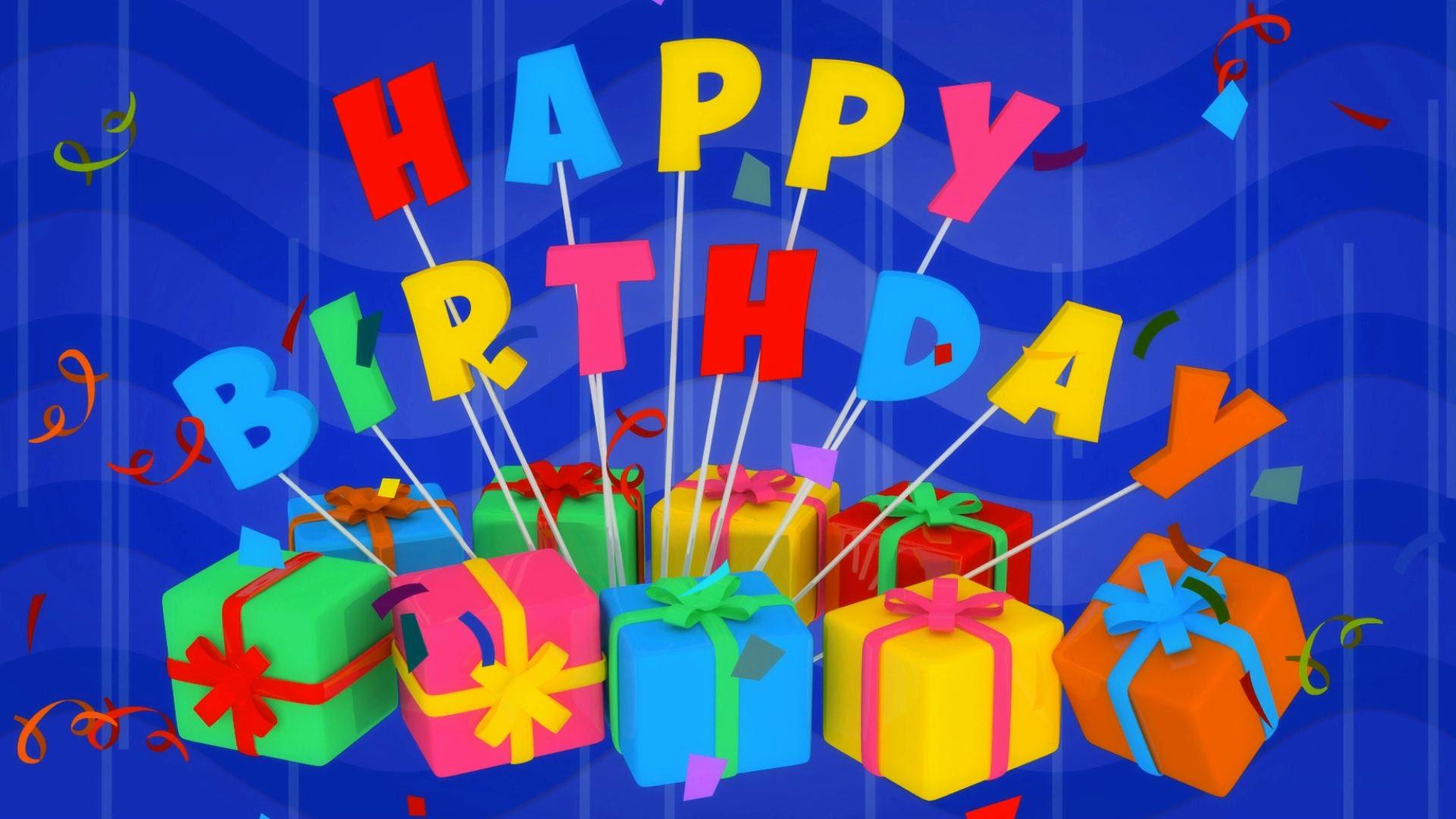 С Днем Рождения HD картинки и обои на рабочий стол 39