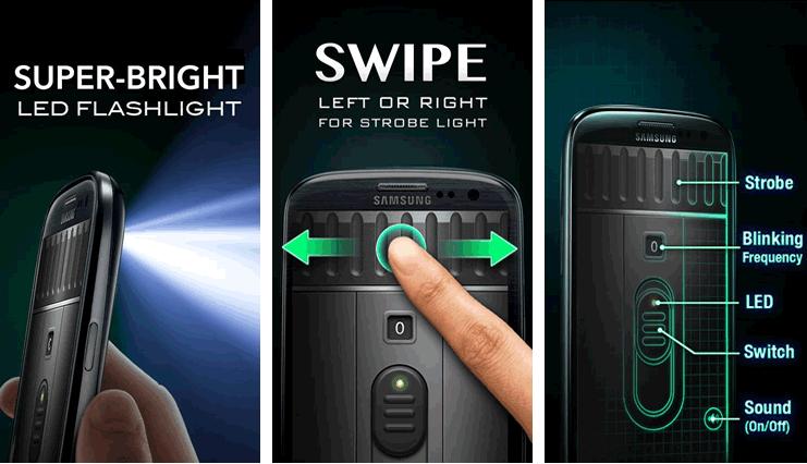 Aplicación de Linterna
