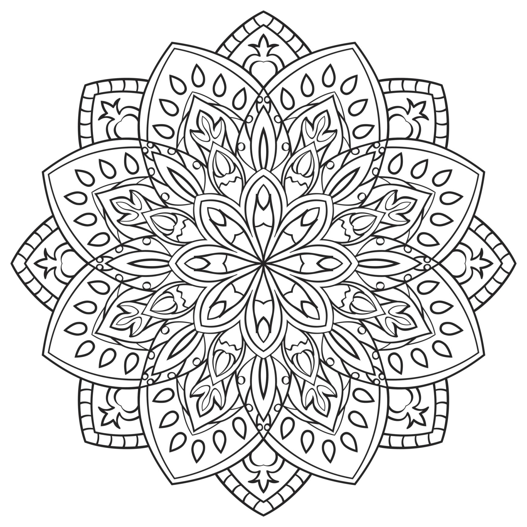 m ndalas para colorear dibujos mandalas para imprimir