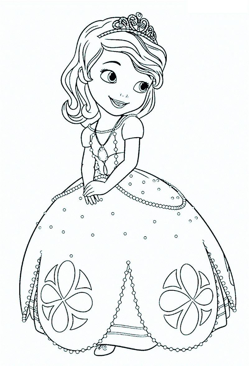 la-princesa-sofia-disney-para-colorear