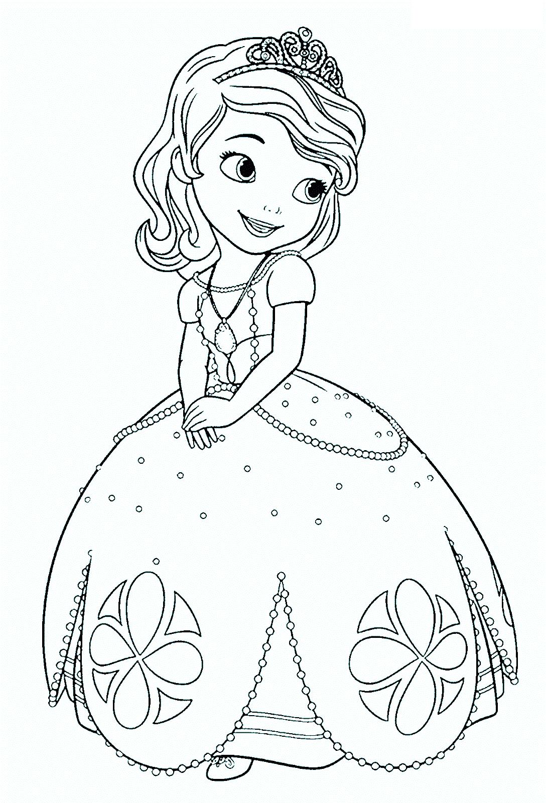 Dibujos Para Colorear Online Gratis De Princesas Disney ~ Ideas ...
