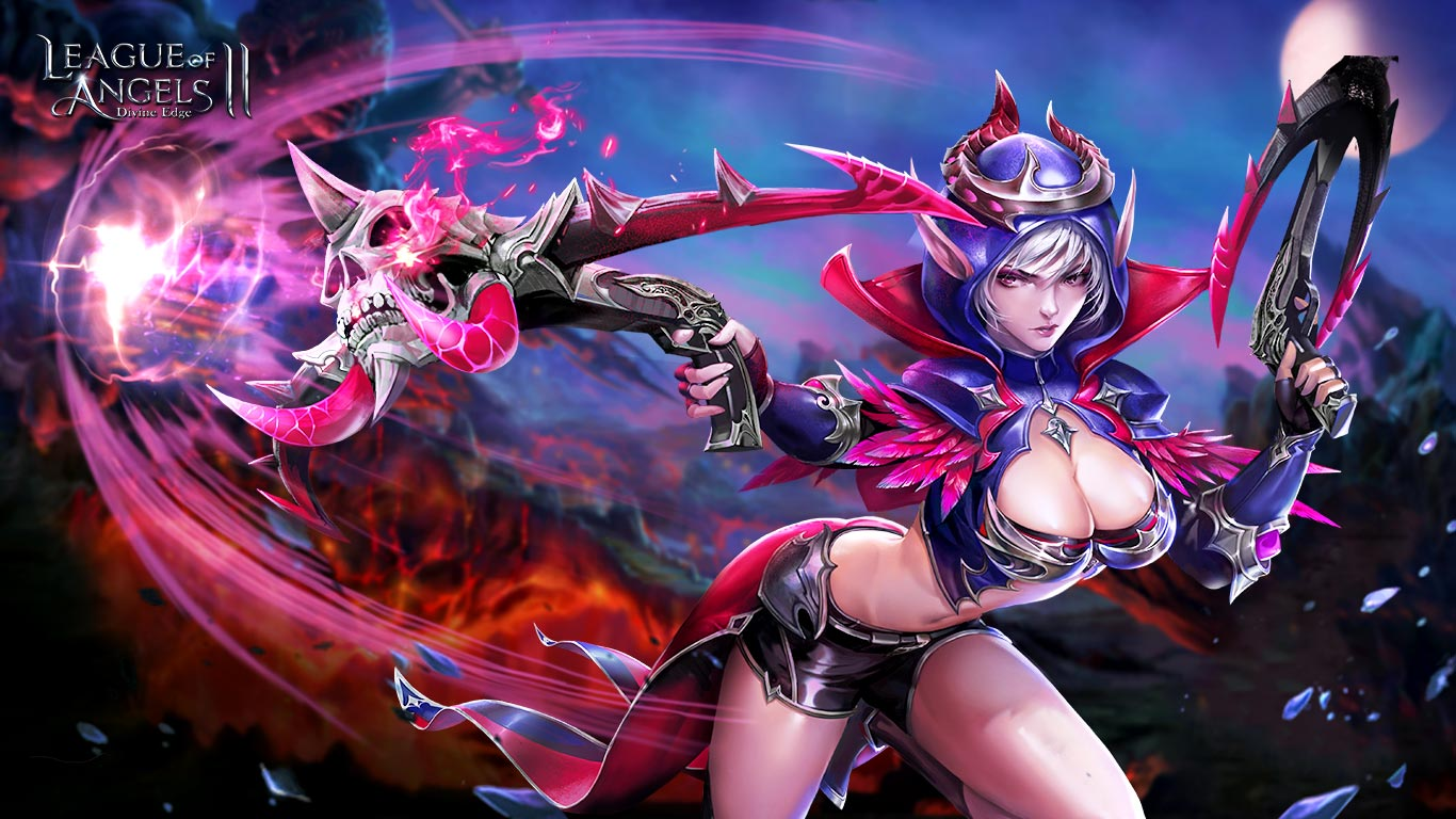 League Of Angels Wallpapers Angel Warrior Fantasy Wallpaper