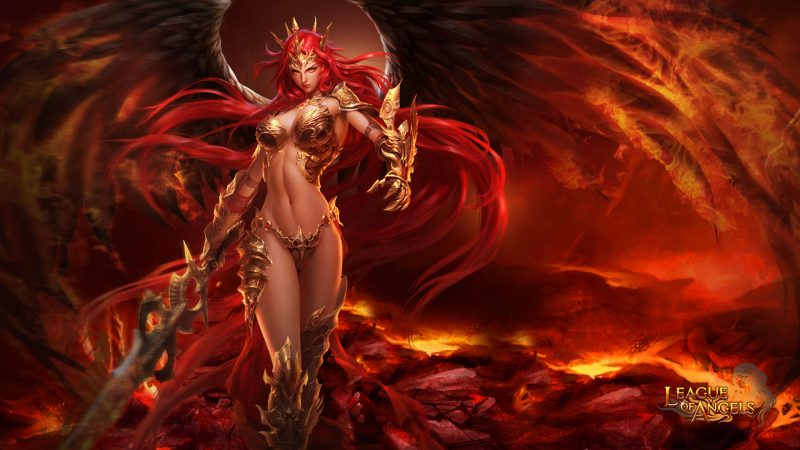 league-of-angels-mikaela-angel-warrior-wallpaper