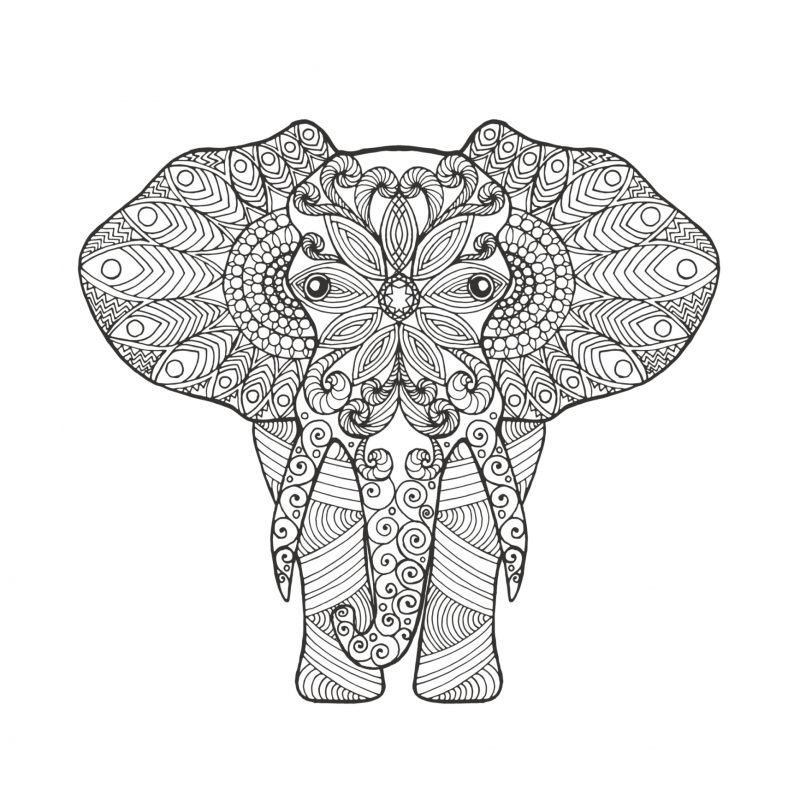 mandala-elefante-para-colorear