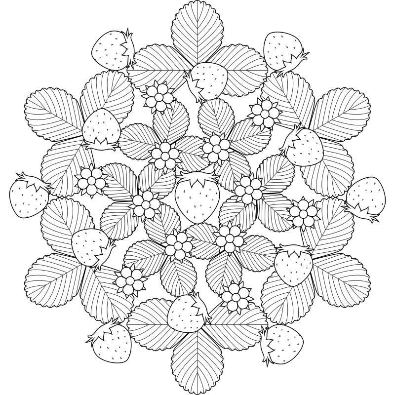 mandalas-frutales-para-colorear