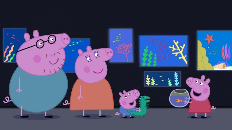 peppa-pig-acuario-familia-fondos-hd-gratis