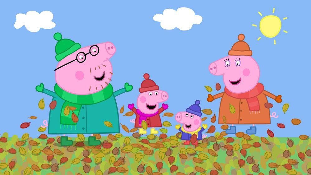 Свинка пеппа и семья картинки