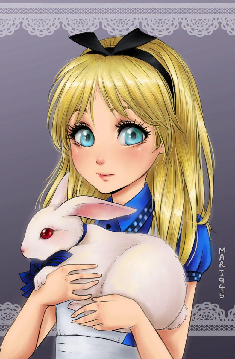 princesa-alicia-en-el-pais-de-las-maravillas-disney-fondo-anime