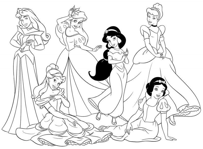 princesas-disney-colorear-e-imprimir-dibujos